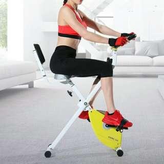 輕便磁力可摺疊健身單車