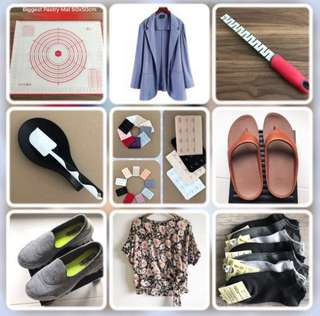 Check out my Fitflop sandals Skechers shoes and assorted household items etc @sunwalker