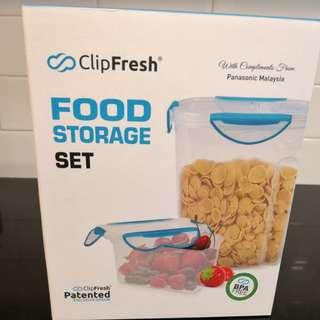 Clip fresh food storage