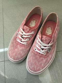Pink Authentic Vans