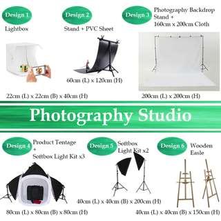 SALE! Photoshoot Equipment