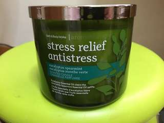 stress relief antistress candle
