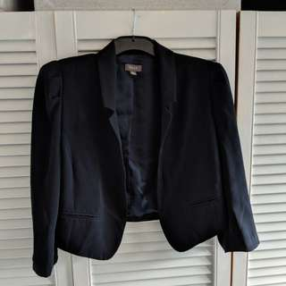 Navy crop jacket Ojay s14