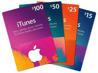 WTB iTunes Gift Card ( Local Region )of any amount ( Personal Use )