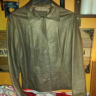 100%Lamb leather Jekel jacket.