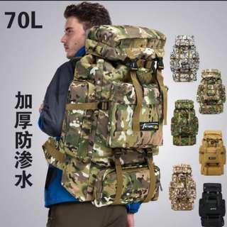 70L戶外旅行露營背包背囊 (露宿者系列) (包Buyup自取) (traveller bag)