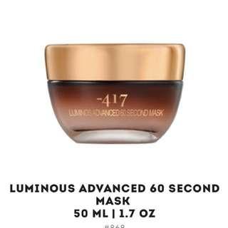 Luminous Advanced 60 second Mask