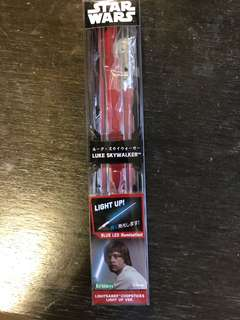 Star Wars Luke Skywalker light up version chopsticks