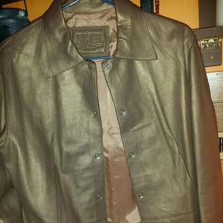 Lamb leather Jacket. Made in France. 100%lamb leather