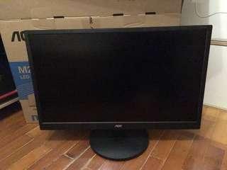 放顯示器 AOC M2470SWH96    23.6 inch FHD,VA,Speaker Monitor   99%new