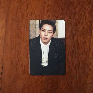 INFINITE PARADISE DONGWOO PHOTOCARD
