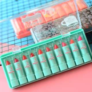 10 color lipstick set 唇膏套装