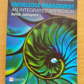 Knowledge management - an integrated approach