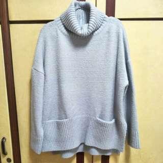 🚚 翻領毛衣