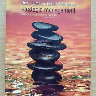 Strategic management- creating competitive advantages
