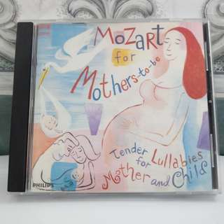 CD Mozart For Mothers-To-Be
