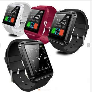 U8 Bluetooth Android Smart Wrist Watch - RED ONLY