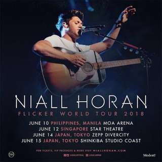 Niall Horan Concert Tickets