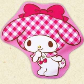 My Melody premium big die cut blanket