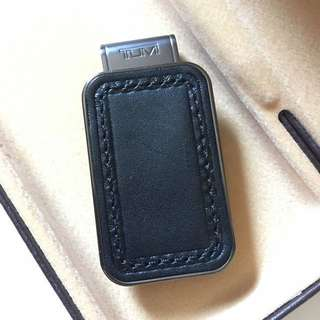 [weekend only sale] Tumi monogram patch money clip