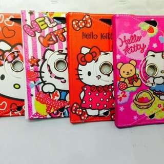 Universal hello kitty leather case