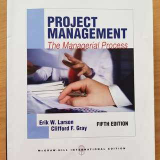 Project management- the managerial process