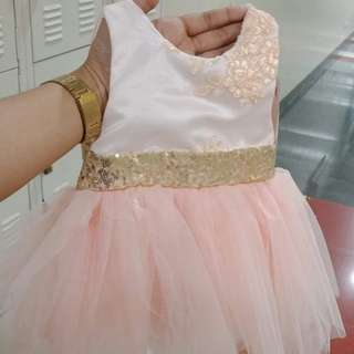 Gown for 0-6 months old
