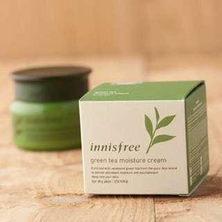 Innisfree Green Tea Moisture Cream Moisturiser