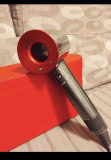 Dyson supersonic red 限量紅色禮盒