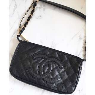 100% real Chanel 25cm tote bag/crossbag