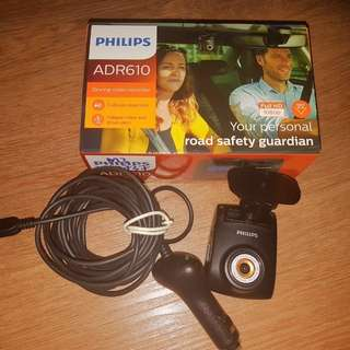 Philips Car Driving Video Recorder ADR610 (used)