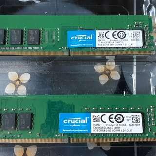 DDR4 Crucial RAM