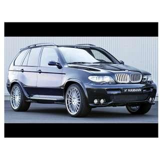 BMW X5 Hamann Bodykit
