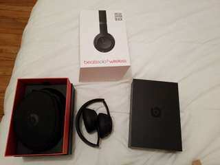 Beats Solo 3 wireless in Black
