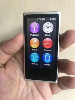 iPod Nano 7th Gen 16GB Silver