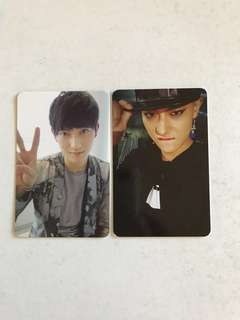 TAO exo mama exodus photocards kpop