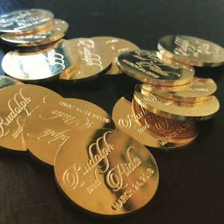 Wedding Coins Arrahae Arras