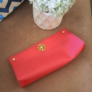 Authentic Tory Burch Jelly Clutch Bag