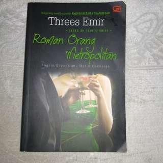 metropop roman orang metropolitan - threes emir