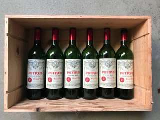 Petrus 1990 collectors' items