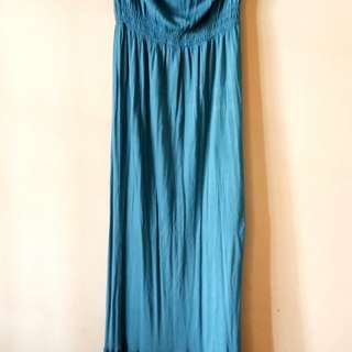 Topshop long tube dress