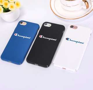Champion iPhone Cases