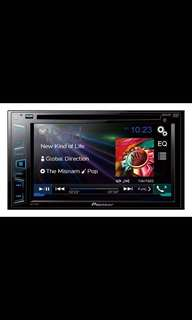 """AVH-275BT  In-Dash Double-Din DVD Multimedia AV Receiver with 6.2"""" WVGA Touch Display, Built-in Bluetooth and Direct Control for iPhone/iPod. Car Radio And Audio System"""