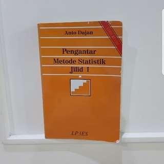 Pengantar Metode Statistik Jilid 1 (Anto Dajan)