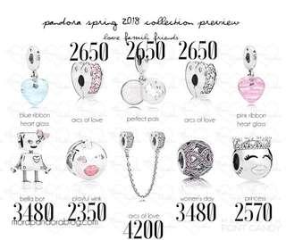 Auth Pandora Spring Collection 2018