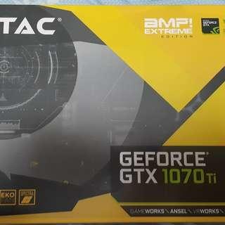 Zotac GTX 1070 ti amp extreme edition