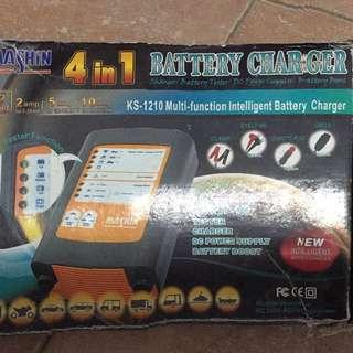 麻新電瓶充電機-KS-1210
