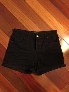 Black Harlow Shorts