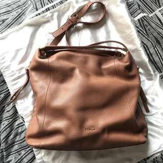 Furla Elisabeth Leather Shoulder Bag