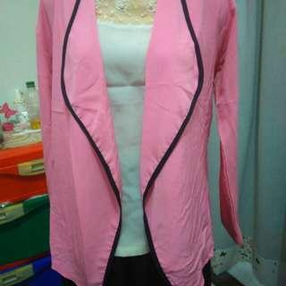 Outer blazer pink